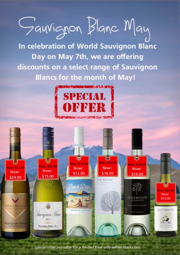 Wine Specials Fiji Victoria Wines